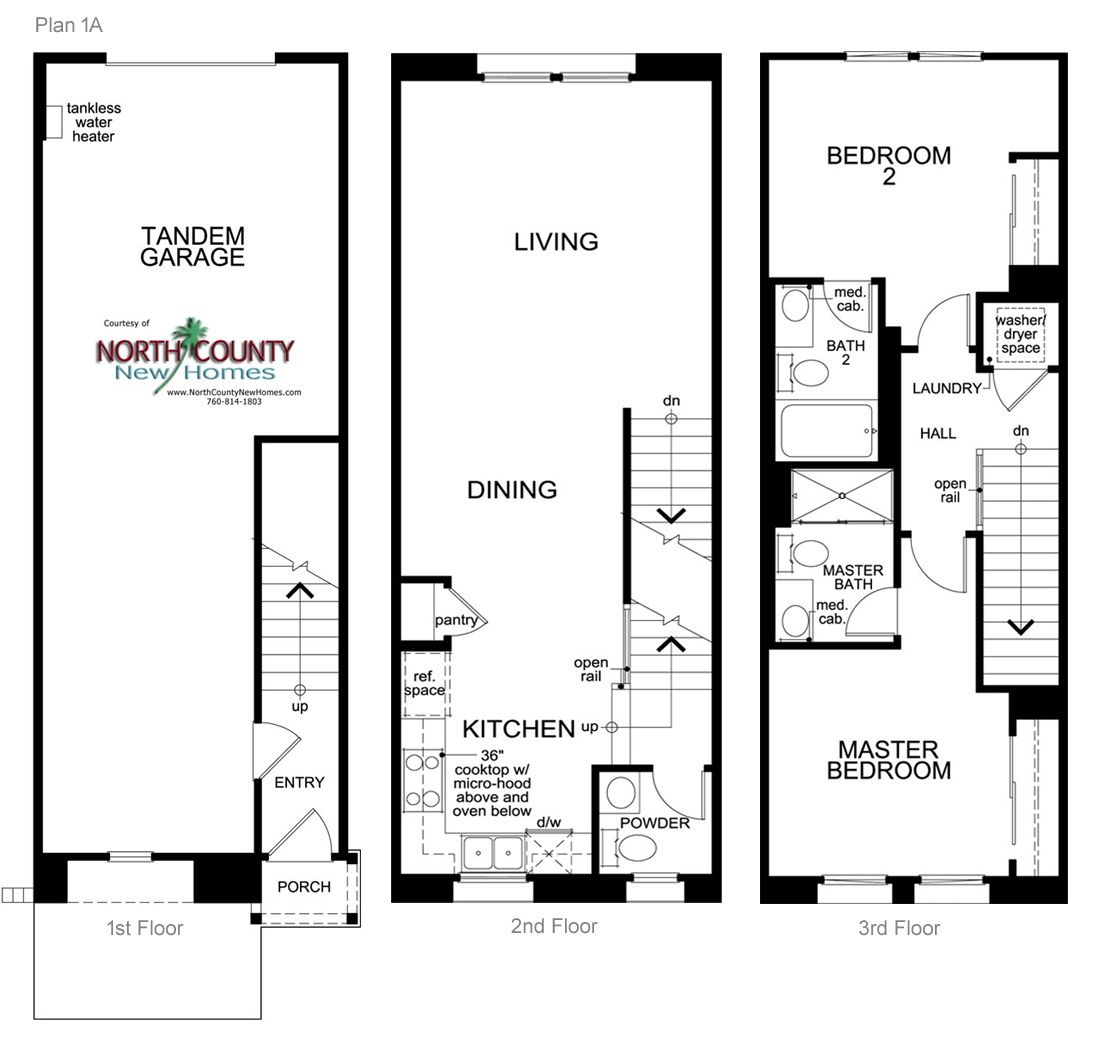 Laterra Townhomes Floor Plans San Diego New Homes In 2019