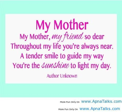 Thank You For Being My Sunshine Today Love You Sooooooooo Much Short Mothers Day Poems Mothers Day Poems Mom Poems