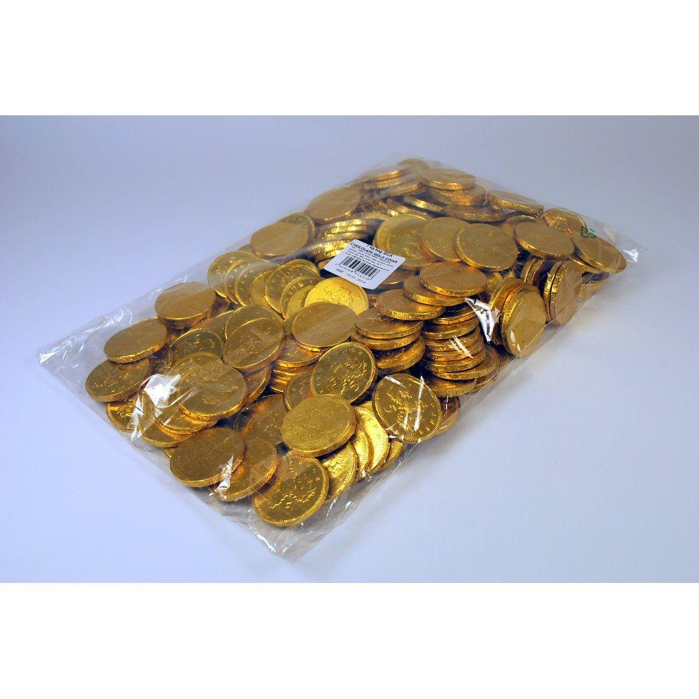 MILK CHOCOLATE GOLD COINS 1KGFor Paradise Falls jar