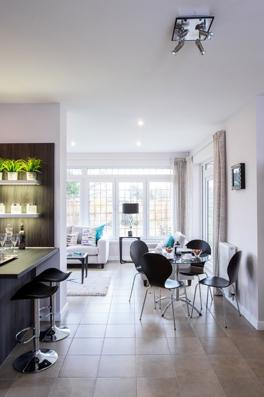 Modern family living room charming open plan conservatory kitchen and living room for an