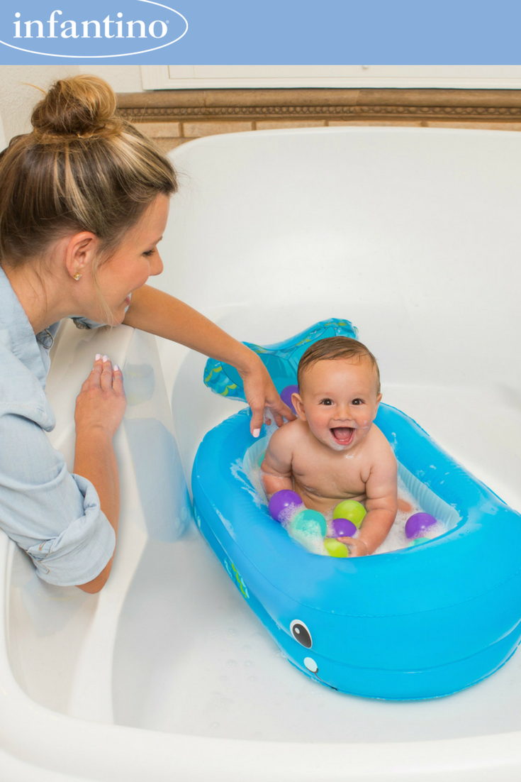 Whale Bubble Bath Inflatable Bath Tub Blue With Images Ball