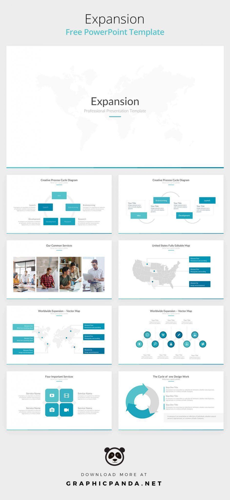 free powerpoint template tg pinterest templates ppt design