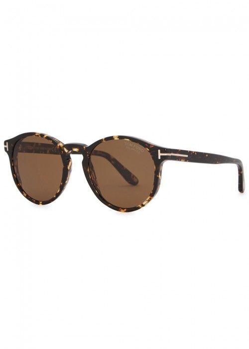 Tom Sunglasses tomford Frame Polarised Ford Round Ian XqgxXHr