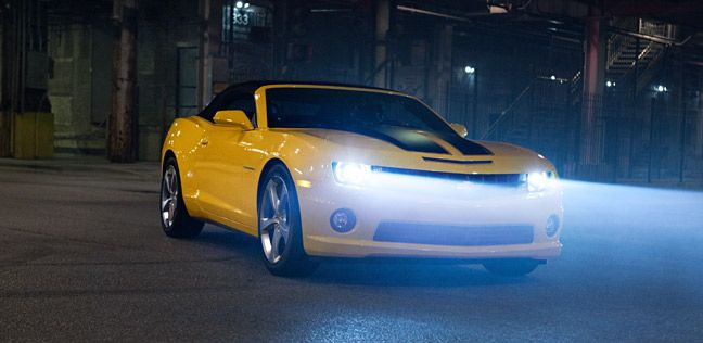 2013 Camaro 2SS Convertible in Rally Yellow (extra-cost ...