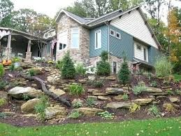 image result for steep slope landscaping sloped garden on best rock garden front yard landscaping trends design ideas preparing for create id=22326