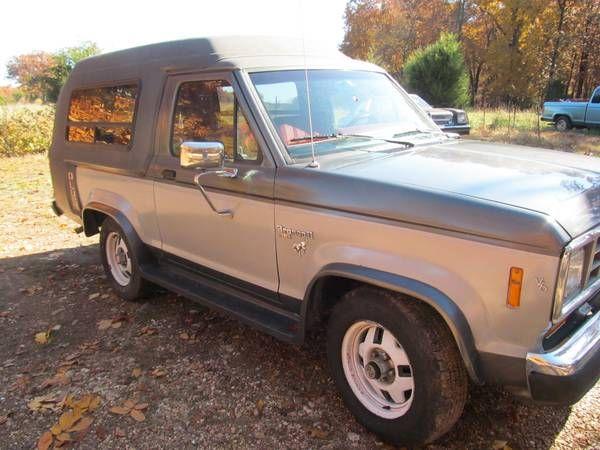 1986 Bronco Ii Plus Ford Bronco Bronco Ii Bronco