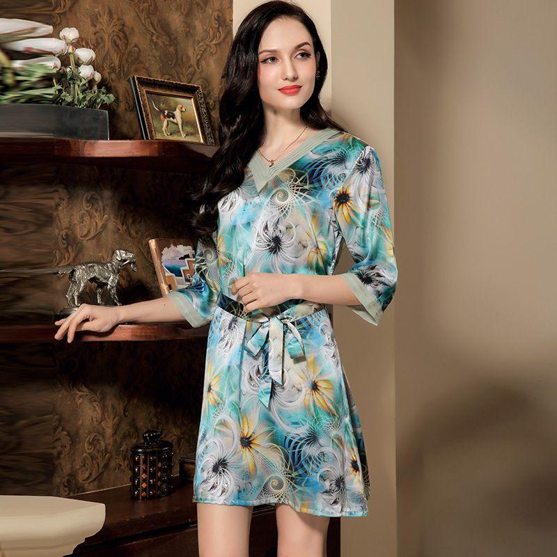 silk nightgowns silk gown sleepwear silk ladies pajamas https://www ...