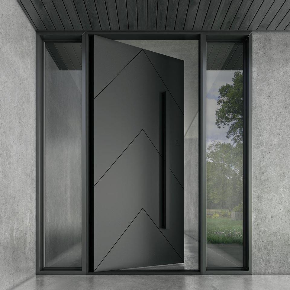 Buy Chevron Entry Door Online - Zen Doors