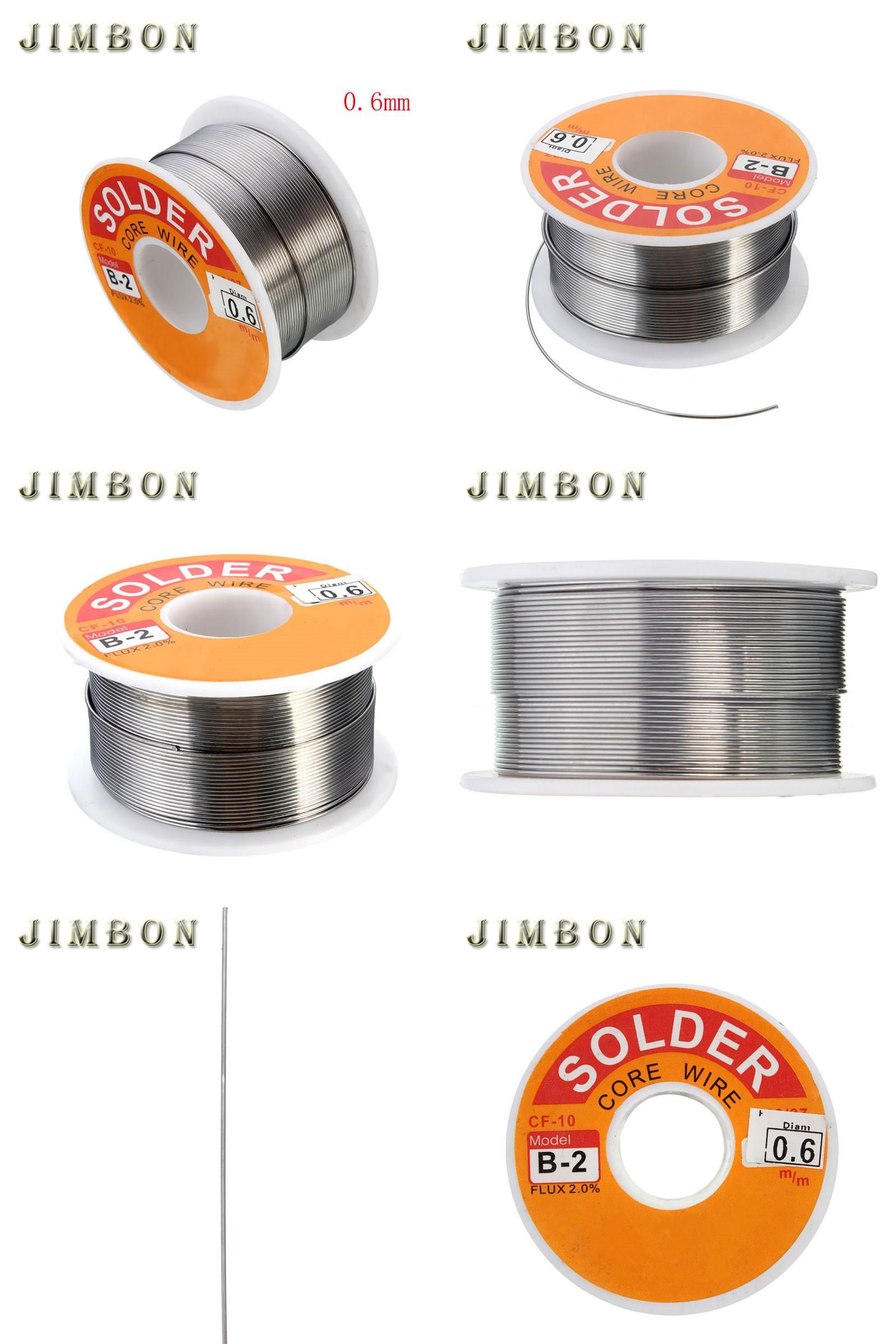 Visit To Buy 63 37 0 6mm 100g 3 5oz Tin Lead Line Rosin Core Flux Solder Welding Iron Wire Reel Solder Soldering Tools A Soldering Tools Iron Wire Wire Reel