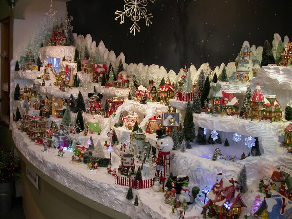 2020 Christmas Village Displays In Northern Lower Michigan North Pole | Christmas village display, Christmas villages