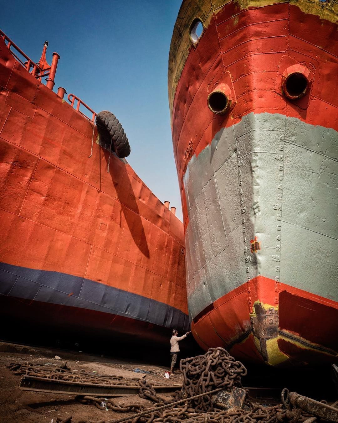 Joshua A Buana On Instagram Another Hard Day In Dhaka A Local Labour Repainting The Old Rustic Ship Dhaka Shipyard Bangladesh Dhaka Bangladesh Old Things