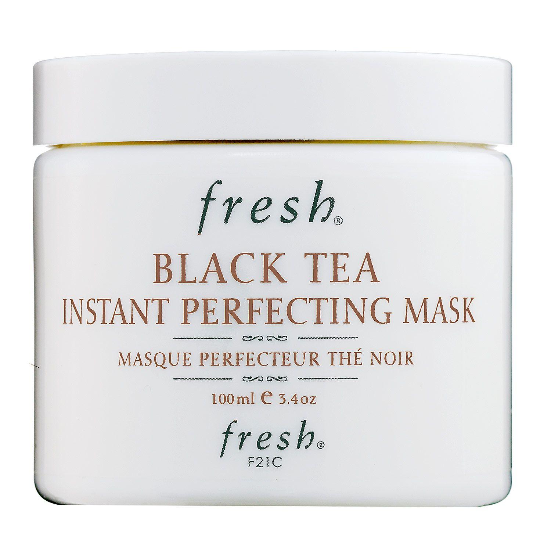 Fresh Black Tea Instant Perfecting Mask: A hydrating treatment that immediately reveals softer, firmer, healthier-looking skin #Sephora #SkincareIQ #skincare #masks
