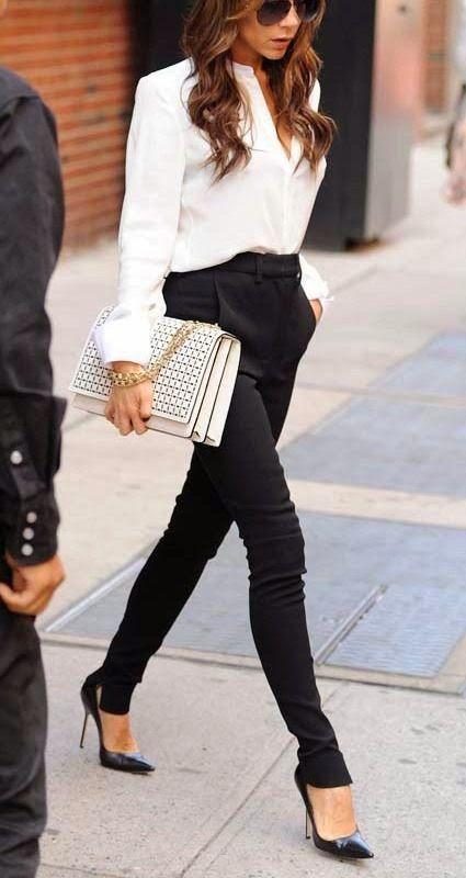 Chic business attire More