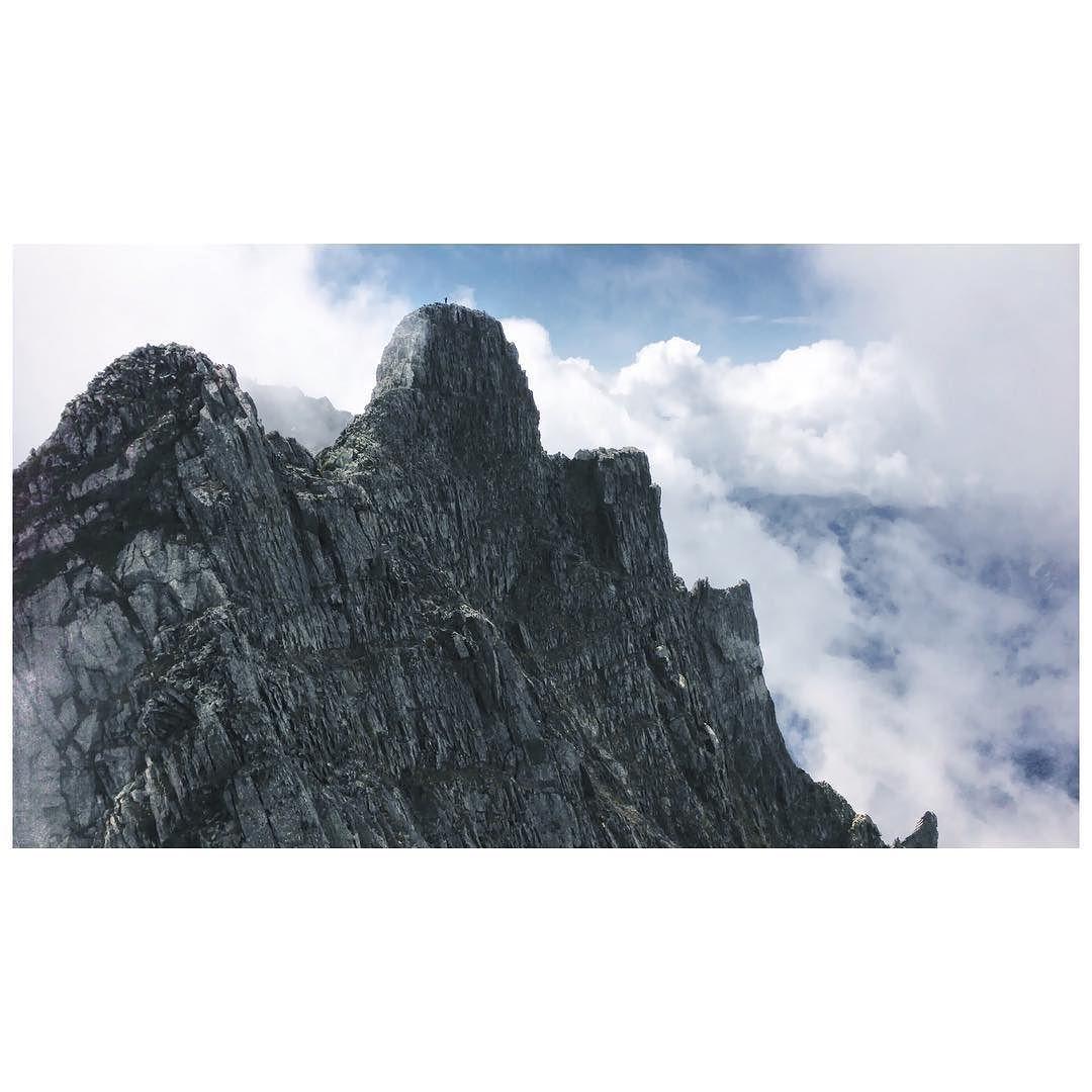 ジャンダルム ドッシリしてる . #自然 #山 #登山 #トレッキング  #mountain #trekking #iphone #nature  #outdoor #landscape #adventure #japan by mos_07