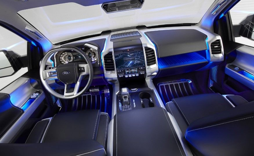 Interior 2020 Ford Bronco Ford Bronco Ford Expedition Ford