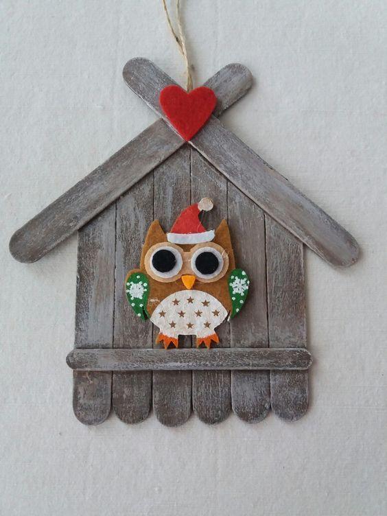 Awesome Lollipop Stick Crafts für Valentines #birdhouses