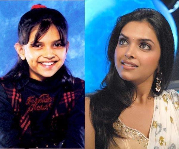 Image result for Deepika Padukone childhood pic transformation