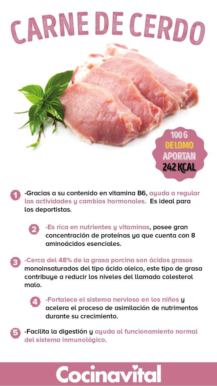 10 beneficios de la carne de cerdo para el consumo humano