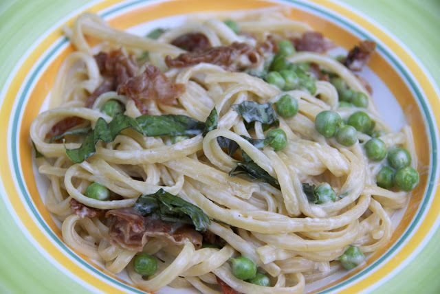 """Straw & Hay"" Pasta with Gorgonzola Barefoot Contessa--Delicious"