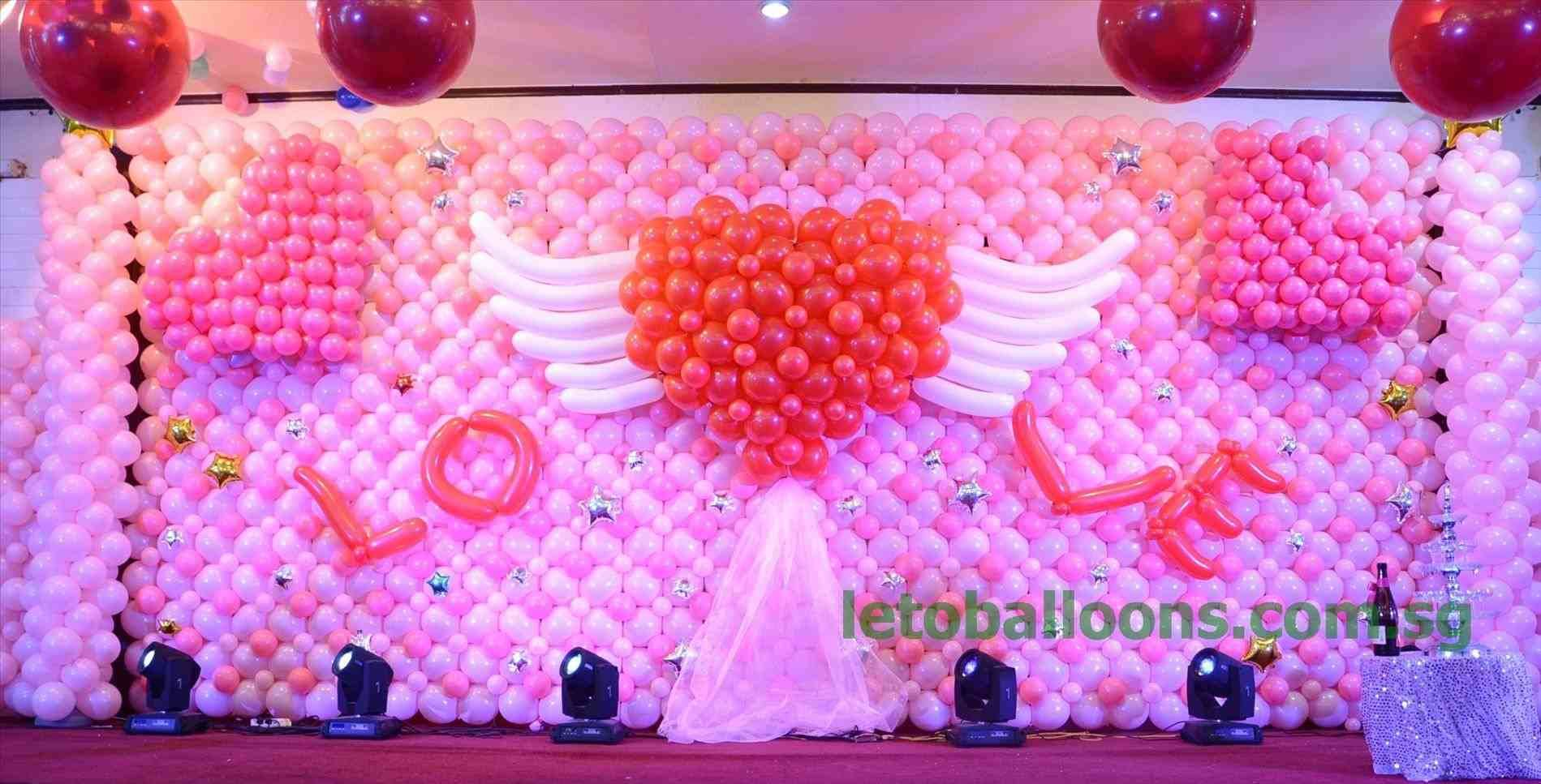 Wedding decoration ideas in kerala   TOP View post balloon decoration ideas for stage visit