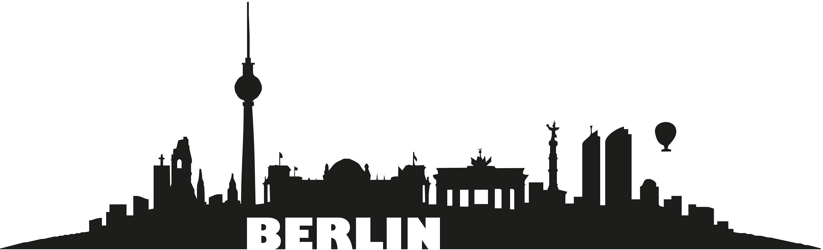 Beeindruckend Wandtattoo Berlin Galerie Von Home Affaire »berlin Skyline« Schwarz Jetzt Bestellen