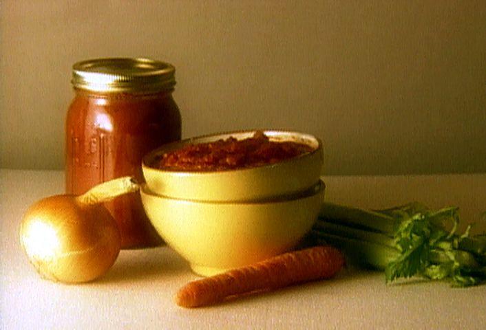 Giada's Simple Tomato Sauce #Italian #Veggies #MyPlate