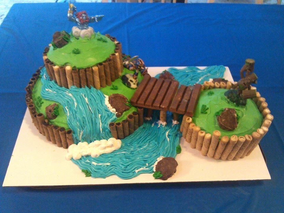 Skylanders cake Isaac 7th Birthday Pinterest Skylanders Cake