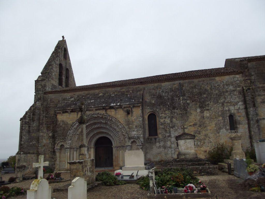 Castelviel- Eglise Notre-Dame.Aquitaine
