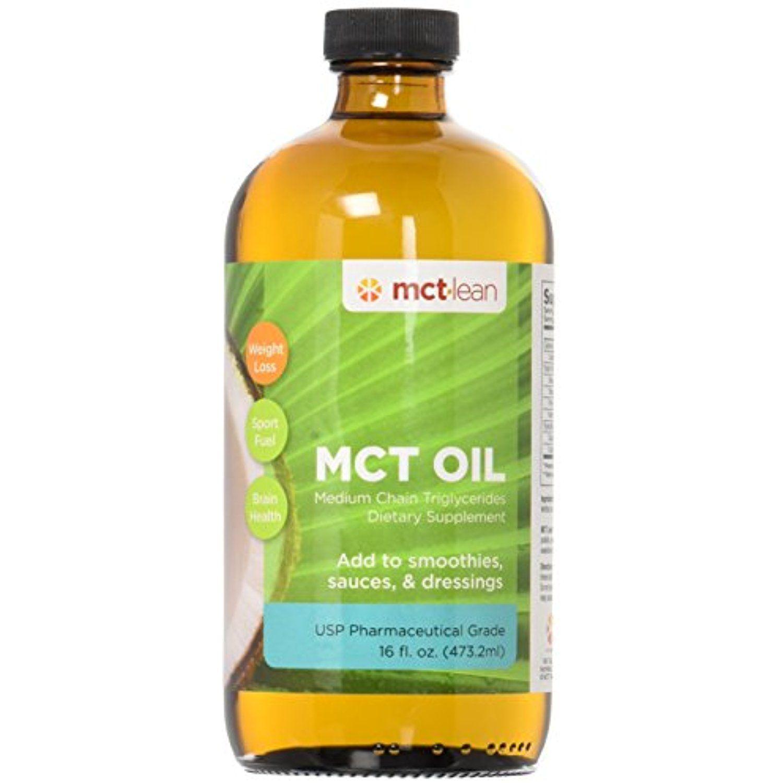 MCT Lean MCT Oil, 16 Oz. 100 USP Verified