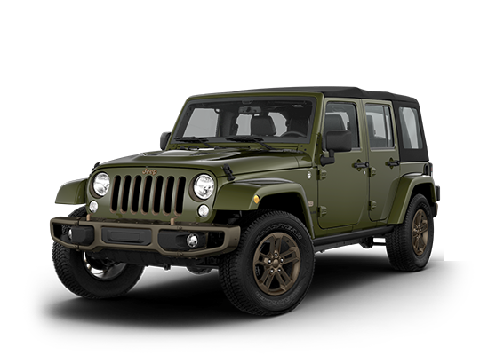 Wrangler Unlimited 75th Anniversary Edition Authentic To The Core