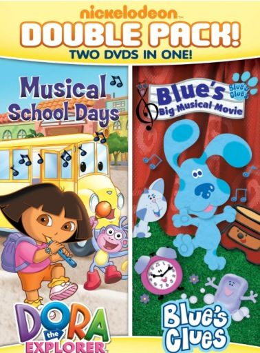 "DVD Review: ""Dora & Blue's Clues Double Feature"" (& Giveaway Ends 9/6)"
