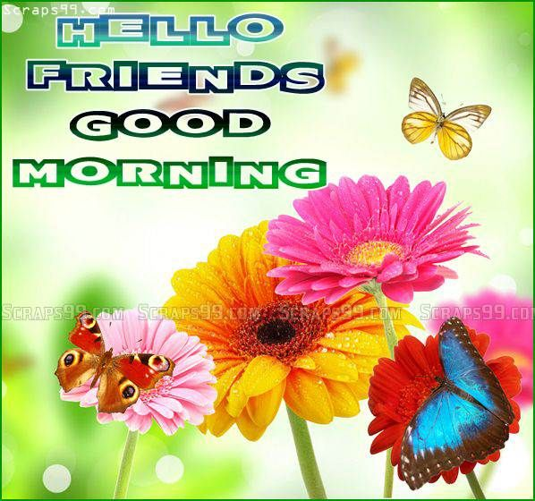 Free Download Good Morning Friends Images For Facebook