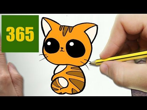 Comment Dessiner Chat Kawaii Etape Par Etape Dessins Kawaii