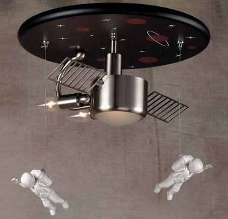 Space Explorer Lamp