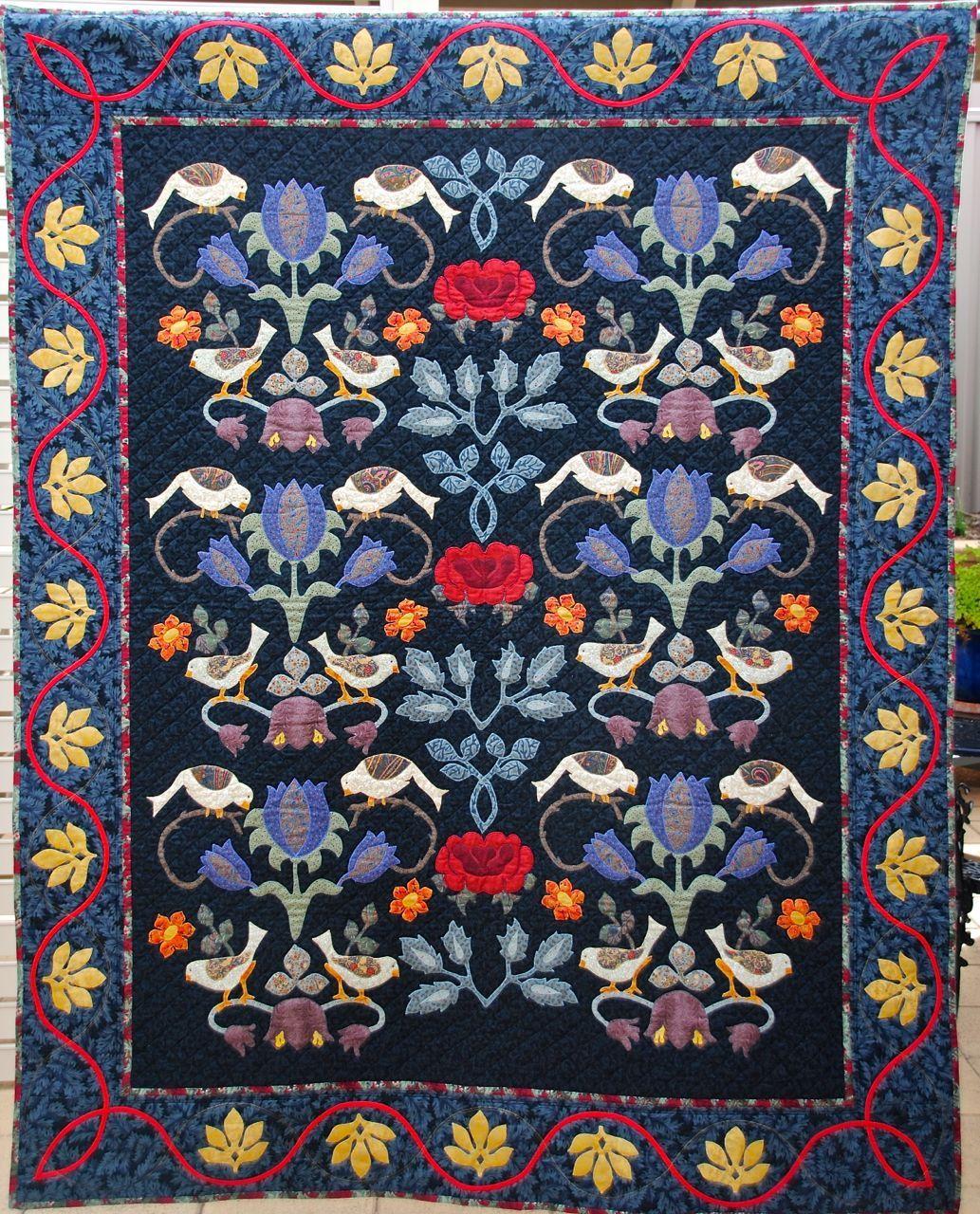 William Morris in Quilting: Quilt Gallery and Patterns   Quilt ... : william morris quilt patterns - Adamdwight.com