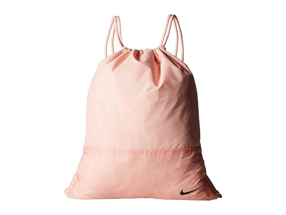 consumidor billetera Pequeño  Nike Move Free Gymsack (Storm Pink/Storm Pink/Black) Backpack Bags. Nike  gets you to the gym in style with the Move Free Gyms… | Black backpack,  Bags, Backpack bags
