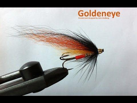 Goldeneye A Fly Tying Video Youtube Fly Tying Salmon Flies