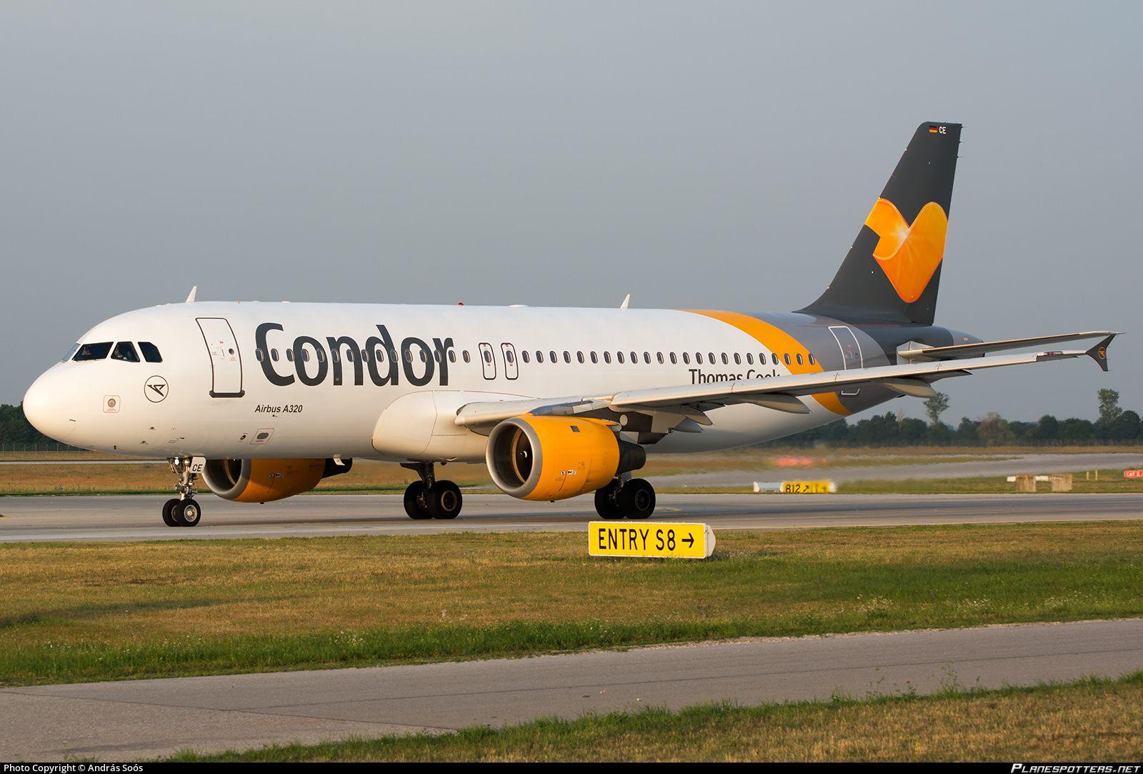 DAICE Condor Airbus A320212 Letadlo