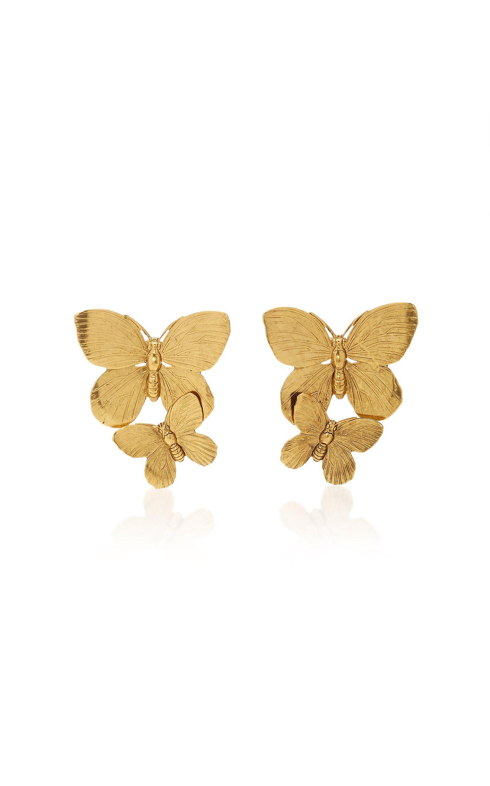 Papillon Earrings By Jennifer Behr For Preorder On Moda Operandi Papillon Moda Operandi Behr