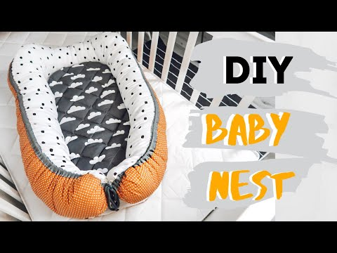 A Very Easy Diy Baby Nest Sewing Tutorial So You Can Make Your Own