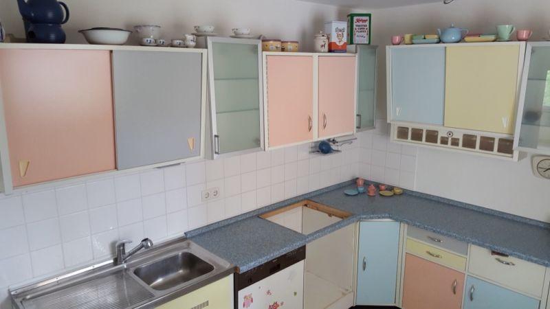 Original Resopal Küche pastell retro 50er Jahre | küche in ...