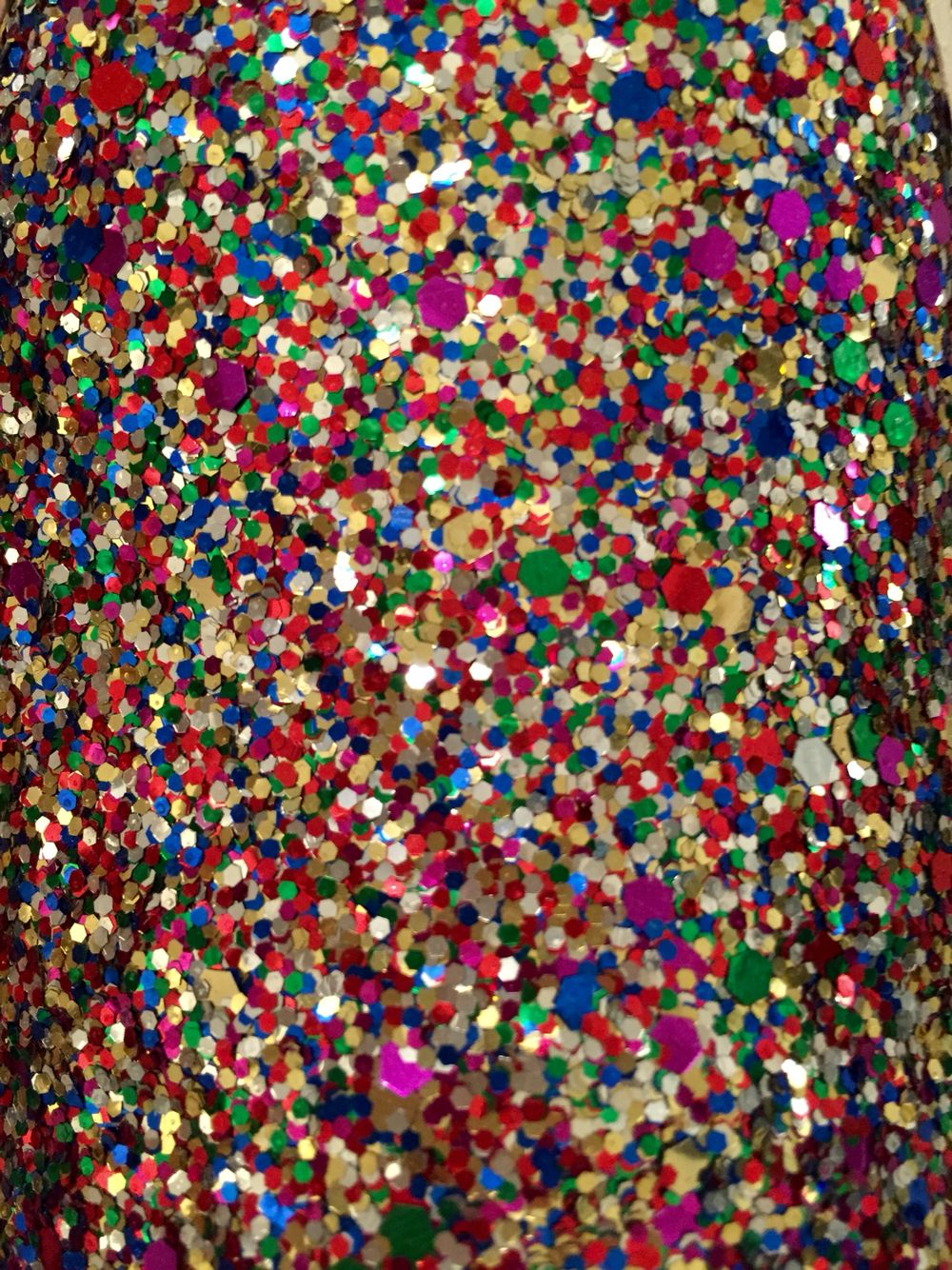 My new Kate Spade multi glitter shoes! But this doubles as ...