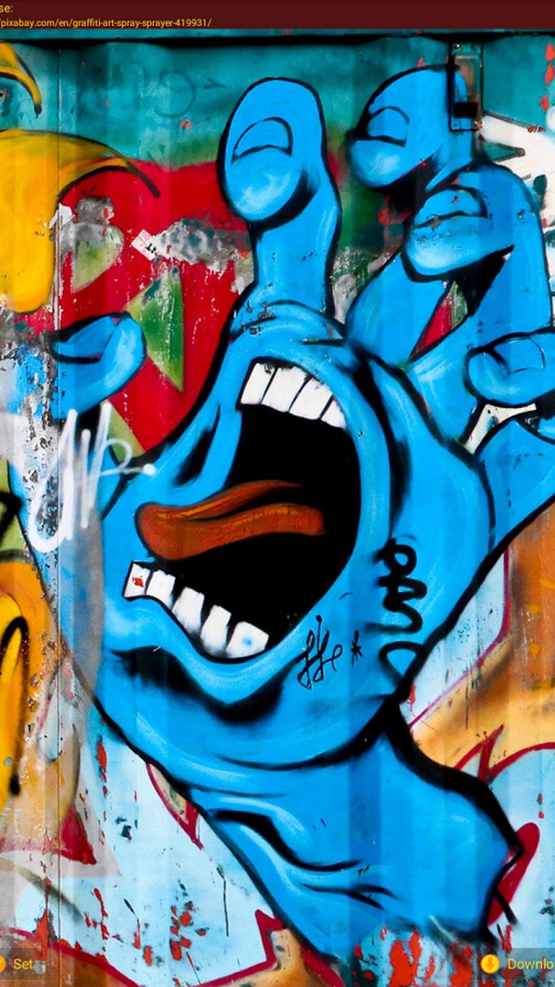Graffiti Letters Iphone 8 Wallpaper Street Graffiti Street Art