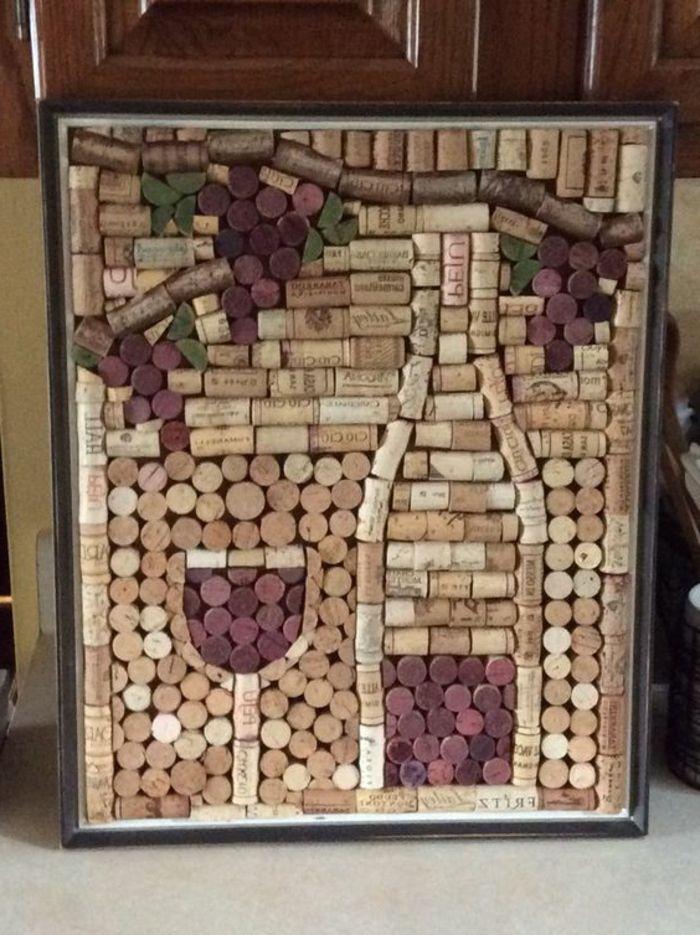 vin en liege art