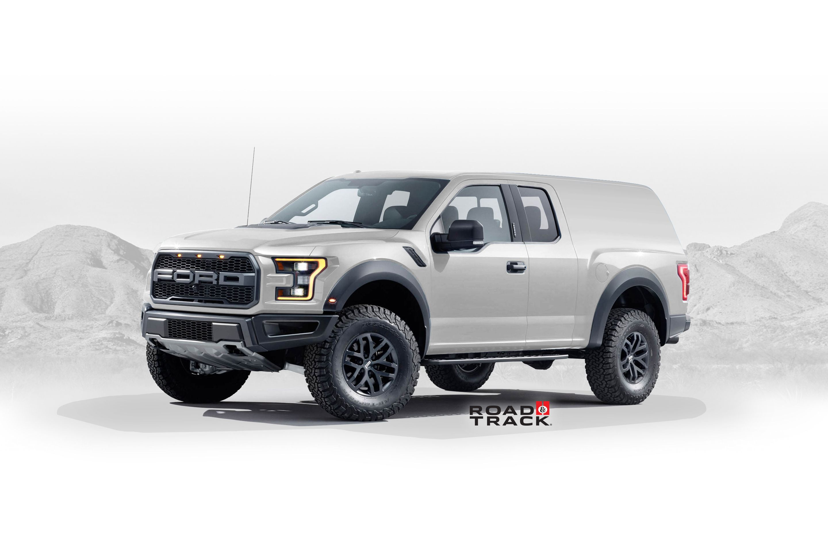 RaptorBased 2020 Ford Bronco Concept Designed by a Fan Is