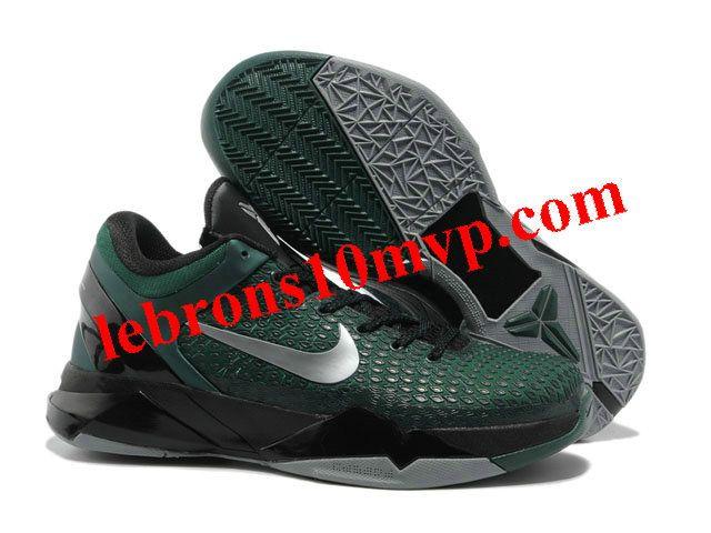 timeless design fc228 5438d Nike Zoom Kobe 7(VII) Elite Shoes Dark GreenBlack