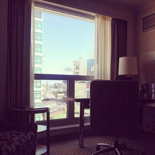There S Nothing Like Waking Up To A View Thank You To Our Guest Acacia Willey For This Awesome Photo Gaslampquarter Sandiego View San Diego Hotels
