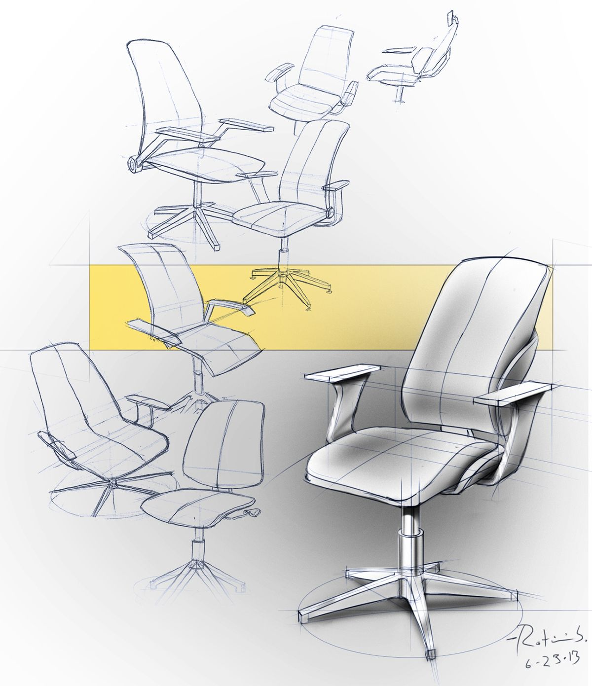 Product Sketches On Behance Furniture Design Sketches Industrial Design Sketch Concept Design
