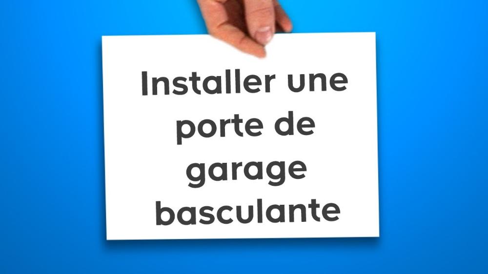 10 Comment Poser Une Porte De Garage Basculante Ce Que Vous Devez Savoir Pose Fenetre Porte De Garage Basculante Castorama