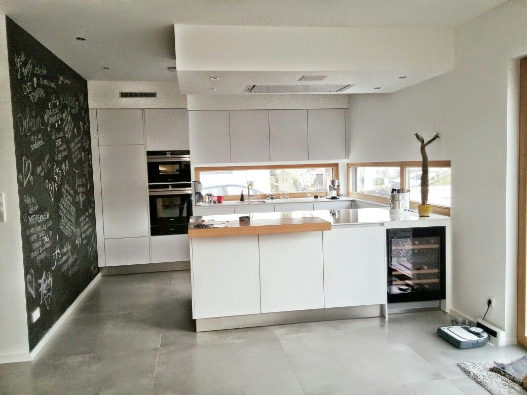 Küche mit Weinkühlschrank | Home decor | Pinterest | Kitchens and House
